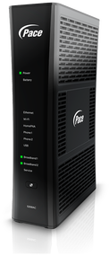 Pace 5268-ac AT&T U-Verse Approved Modem (Logo may vary)