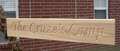 Single Cypress Sign (Square Ends)