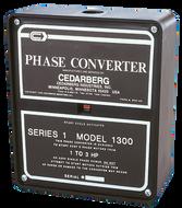Cedarberg Series 1B Phase Converter MODEL 1600B (7-1/2 to 10 HP) - 8000-105
