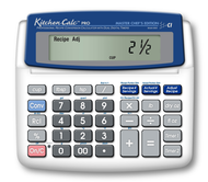 Calculated Industries KitchenCalc Pro Master Chef - 8305