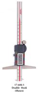 "SPI Absolute IP54 Digital Depth Caliper, 0-6"" Single Hook - 17-611-5"