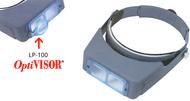 "Donegan OptiVisor Binocular Magnifiers, 2-1/2x @ 8"" - DA-500"