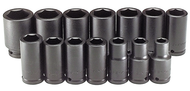 "SK Tools 14 Piece 3/4"" Drive 6 Point Deep Fractional Impact Socket Set - SK87914"