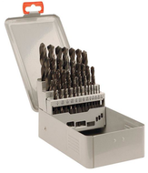 T&O 29 Piece HSS Surface Treated Jobbers Length Twist 118° Point Drill Set - A37-TO-118 - 01-007-591