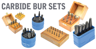 Grobet USA Carbide Bur Sets