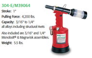 MARSON AIR/HYDRAULIC RIVETER TOOLS
