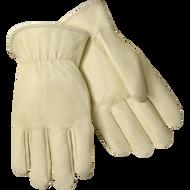 Steiner Grain Pigskin Winter Gloves With Fleece Insulated Lining