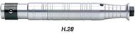 Foredom Handpiece For SR Series 1/6 HP Flex Shaft Motors - H.28