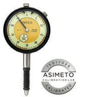 Asimeto AGD2 IP54 Water Proof Dial Indicator 0-50 Reading - 7402269