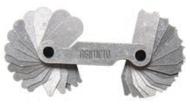 "Asimeto Radius Gage 1/64-1/2"" x 64ths Range - 7605441"