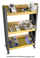 Huot Shop Tower, Great For Storing Heavy Vices And Chucks - 98700