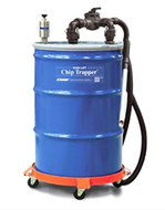 Exair 55 Gallon High Lift Chip Trapper Vacuum System - 6190