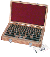 Fowler 82 & 36 Piece Carbide Rectangular Gage Block Sets