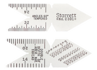 Starrett Center Gages