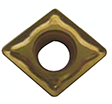 Precise CNMG TiN Coated Diamond-Negative Rake Carbide Inserts