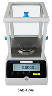 Adam Solis Analytical and Semi-Micro Balances, 120g Capacity - SAB-124e
