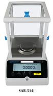 Adam Solis Analytical and Semi-Micro Balances, 510g Capacity - SAB-514i