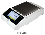 Adam Equinox Precision Balance, 6200g Capacity - ETB-6202e