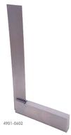 """Precise 4"""" x 3"""" Machinist Steel Square - 4901-0602"""