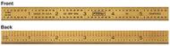"Fowler 6"" 5R Flexible Titanium Golden America Rule - 52-309-006-1"