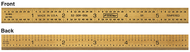 "Fowler 12"" 5R Flexible Titanium Golden America Rule - 52-309-012-1"