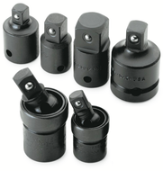 SK Tools 6 Piece Universal/Adapters Impact Set - 4519
