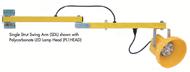 Tri-Lite LED Dock Light Single Strut Swing Arms