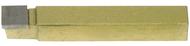 Precise Carbide Tipped Tool Bits, Square Nose, Style C, Grades C2/C5