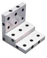Precise Stepped Angle Plate w/Tapped Holes