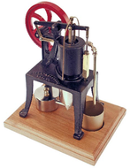 PM Research Solar Engine #12, 1895 Rider-Ericsson Hot Air Pumping Engine - SOLAR-12