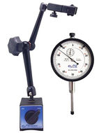 """Elite Precision Magnetic Base & 1"""" Certified AGD Dial Indicator Set - 57-030-765"""