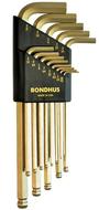 Bondhus 14K GoldGuard™ Gold Plate Balldriver L-Wrench Sets
