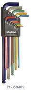 Bondhus ColorGuard Balldriver L-Wrench Sets