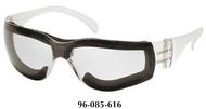 Pyramex Intruder® Full Foam Padded Frame Safety Glasses