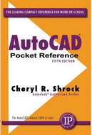 Industrial Press AutoCAD 2012 Pocket Reference 5th Edition - 99-065-853
