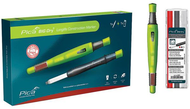 Pica Big Dry® Longlife Mechanical Carpenter's Pencil & One 12/Pack Refill - 6095 - 57-079-409