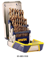 Irwin 29 Piece Jobber Length Drill Sets