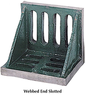 Suburban Tool Webbed End or Open End Slotted Angle Plates