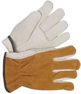 BDG Fleece Lined Split Leather Cowhide Driver Gloves