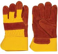 Precise High Visability Orange Leather Grade Gloves - 96-007-183