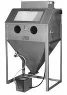 Trinco Master Model Dry Blaster with Abrasive Separators