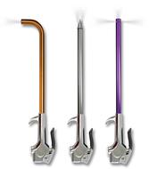 IPA 3 Piece Specialty Blow-Gun Assortment - 8055