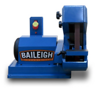 "Baileigh 1"" x 42"" Three Wheel Belt Grinder - BG-142S"