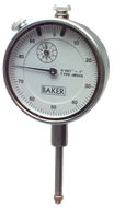 "Baker Dial Indicator 1"" Range with 0.001"" Graduation - JB-500"