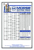 Morse Large Plastic Chart 10 pack  - 1007-2