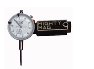 "Mighty-Mag Magnetic base is Made in U.S.A. With 1"" Indicator - MMD-100"