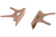 """Wilton Copper Jaws for Bench Vises, 4"""" Jaw Width - 76-622-0"""