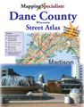 Dane County Street Atlas, WI.