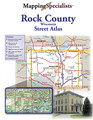 Rock County Street Atlas, Wi. 2017 Edition