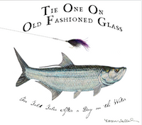 Tie-One-On Bonefish & Tarpon Old Fashioned Glasses Set